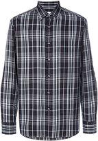 Brioni plaid shirt