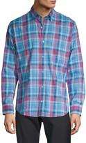 Tailorbyrd Trim-Fit Plaid Shirt