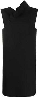 MSGM Asymmetric Sleeveless Dress