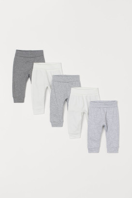 H&M 5-Pack Cotton Trousers