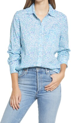 Vineyard Vines Among the Flowers Chilmark Button-Up Cotton Shirt