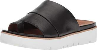 Gentle Souls by Kenneth Cole Women's Lavern Platform Slide Sandal Toe Ring Sandal