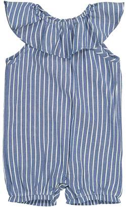 La Redoute Collections Striped Baby Romper, Birth-3 Years