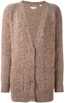 Chinti and Parker flecked marl long cardigan