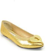 Diane von Furstenberg Malia - Gold Ballet Flat