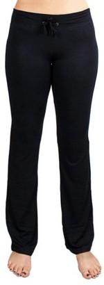 Crown Sporting Goods Soft & Comfy Yoga Pants, 95% Cotton/5% Spandex, Black S