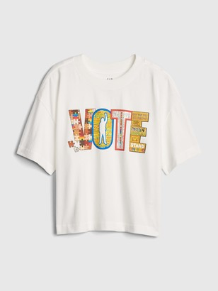 Gap The Collective Teen Girl Vote T-Shirt