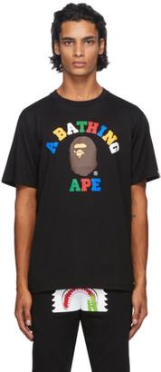 BAPE Black College T-Shirt