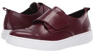 Calvin Klein Filius (Oxblood Box Leather) Men's Slip on Shoes