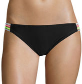 Arizona Mix It Up Spaghetti Hipster Swim Bottom - Juniors