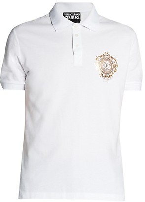 Versace Jeans Couture Chest Logo Polo T-Shirt