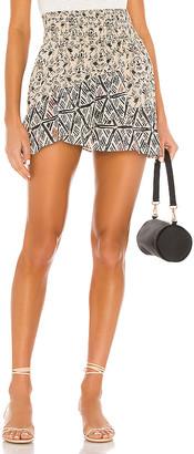 Free People Riviera Mini Skirt