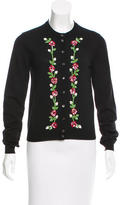 Dolce & Gabbana Virgin Wool Embellished Cardigan