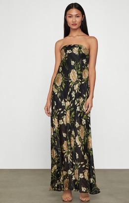 BCBGMAXAZRIA Garden Floral Maxi Dress