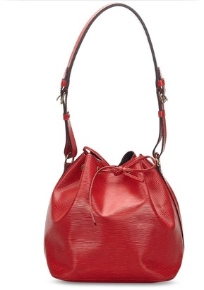 Louis Vuitton 2001 pre-owned Epi Petit Noe bucket bag