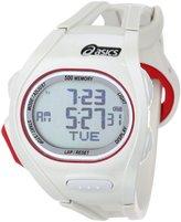 Asics Unisex CQAR0104 Race Regular White Oversized Display Running Watch