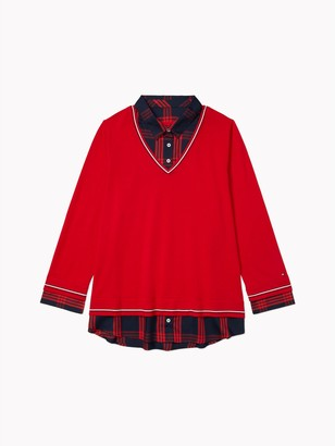 Tommy Hilfiger Essential Curve Plaid Sweater