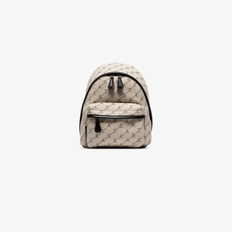 Stella McCartney neutral Stella mini logo backpack