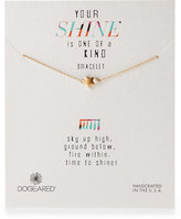 Dogeared Your Shine Star Bracelet