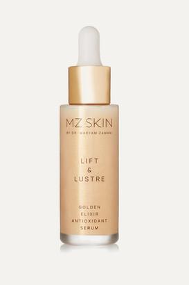 MZ SKIN Lift & Lustre Golden Elixir Antioxidant Serum, 30ml