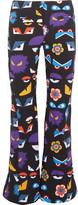 Fendi Printed Ski Pants - Black