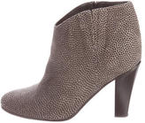 Golden Goose Deluxe Brand Embossed Suede Ankle Boots