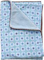 Caden Lane Modern Vintage Octagon Boy Piped Blanket