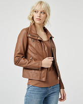 Le Château Faux Leather Motorcycle Jacket
