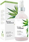Fine Lines InstaNatural Organic Rosehip Seed Oil - 100% Pure & Unrefined Virgin Oil - Natural Moisturizer for Face, Skin, Hair, Stretch Marks, Scars, Wrinkles & Omega 6, Vitamin A & C - 4 Oz