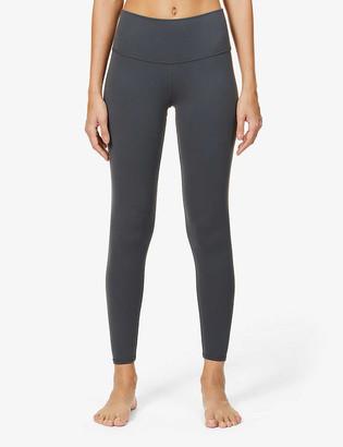 Alo Yoga 7/8 Airbrush high-rise stretch-jersey leggings