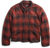 Ralph Lauren Weist Plaid Fleece Jacket