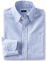 Classic Little Kids Washed Oxford Shirt-Blue Jay Stripe