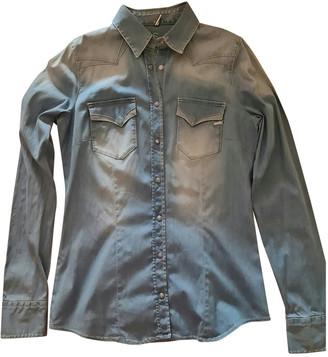 Gas Jeans Blue Denim - Jeans Tops