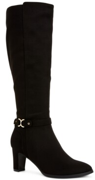 Charter Club Palmaa Dress Boots, Created for Macy's Women's Shoes