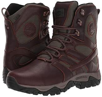 Merrell Work Moab Duluth 8 Waterproof Slip Resistant (Espresso) Men's Boots
