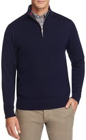 Tailorbyrd Sperry Wool Half-Zip Sweater