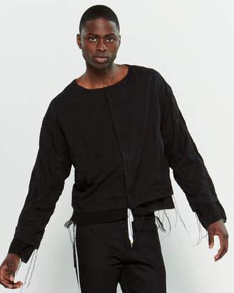 SASQUATCHfabrix. Black Quilted Shirt