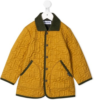 Familiar Quilted Shell Jacket