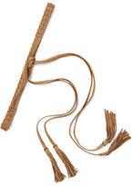 New York & Co. Braided Fringe-Trim Belt