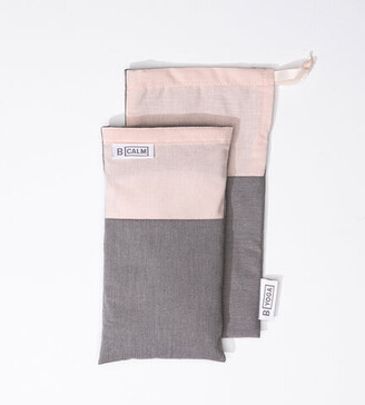 B Yoga B Calm Pink Eye Pillow with Storage Bag
