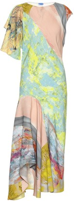 Thierry Mugler Printed midi dress
