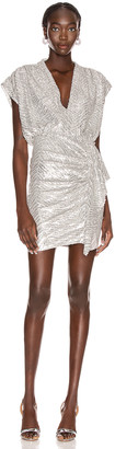 IRO Sagria Dress in Silver | FWRD