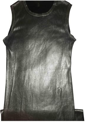 Louis Vuitton Metallic Silk Dresses