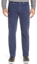 Peter Millar Men's Tailored Straight Leg Stretch Corduroy Pants