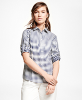 Brooks Brothers Cotton Gingham Shirt