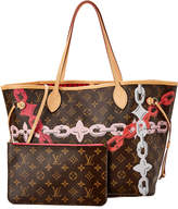 Louis Vuitton Limited Edition Monogram Bay Canvas Neverfull Mm Nm