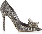 Jimmy Choo ARI Crystal Covered Pointy Toe Pumps