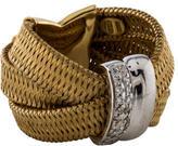 Roberto Coin Woven Diamond Ring