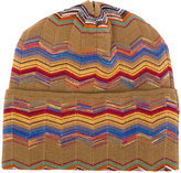 Missoni patterned beanie - men - Nylon/Wool - One Size