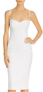 LIKELY Balcott Lace Detail Midi Dress